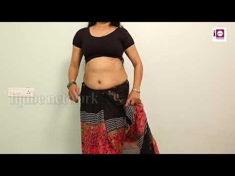 Attractive Saree Wear ¦ How to saree draping with beautiful saree   super viral videos
