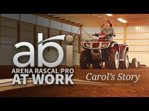 Carol's Story – Arena Rascal Pro – ATV Arena Groomer