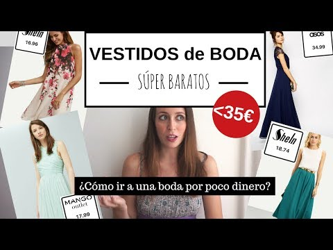 Vestidos para bodas baratos💐 ¡Chollos por menos de 35€! // Shein, Asos, Mango, Zara, Bershka