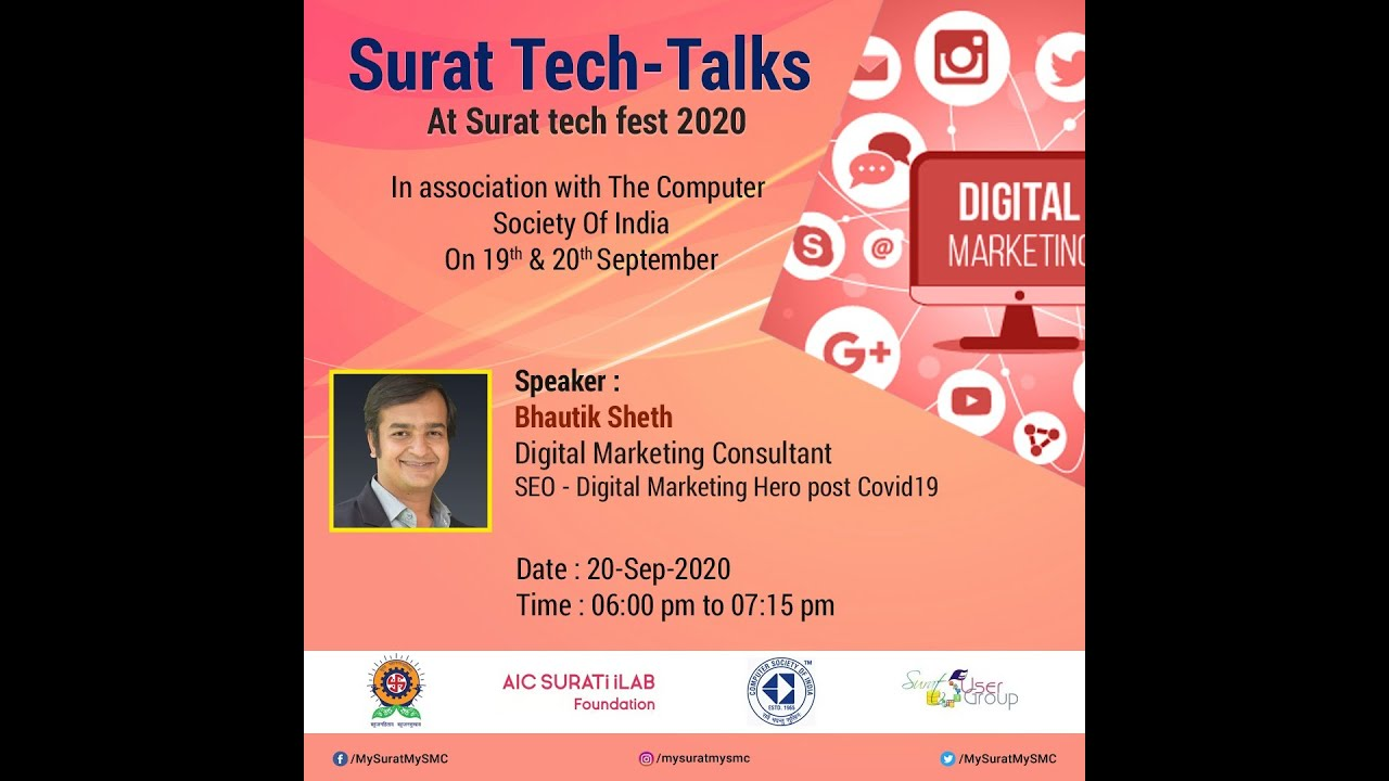 SEO - Digital Marketing Hero post Covid19 -- Bhautik Sheth