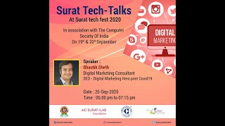 SEO - Digital Marketing Hero post Covid19 -- Bhautik Sheth
