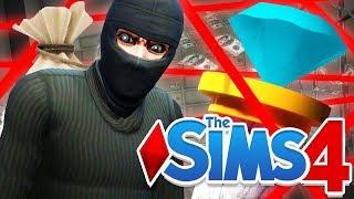 I STOLE EVERYTHING! (Sims 4 #11)