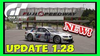 Gran Turismo Sport Update 1.28 | FUJI SPEEDWAY & 9 NEW CARS! | PS4 PRO GAMEPLAY