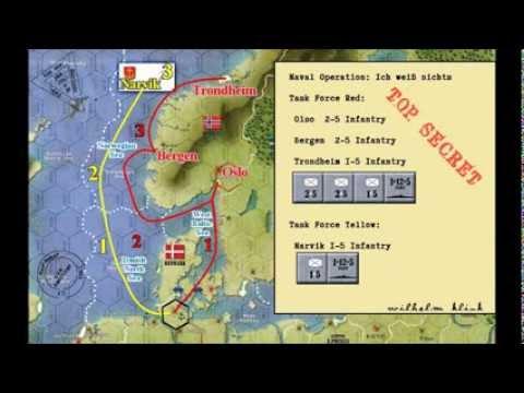 Amphibious Assault Example for  The War: Europe 1939-1945