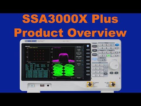 Siglent SSA3000X Plus Series Spectrum Analyser Introduction