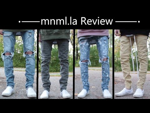 MNML Denim Review | Drawcord Pants, M1 Stretch, M1 Splash, Vintage, M56 Denim | Mens' Denim