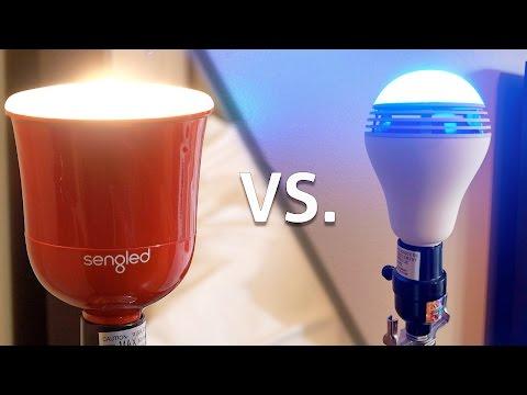 Sengled Pulse vs Playbulb Color - Smart Speaker Lightbulbs
