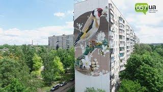 Харьковские многоэтажки превратятся в полотна для картин
