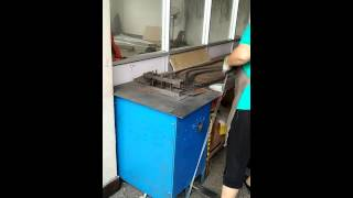 Wire rope cutting machine for 1mm to 3mm