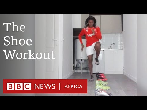 Screenshot of video: Shoes workout-BBC