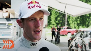 Elfyn Evans Interview - Finland WRC Testing 2020