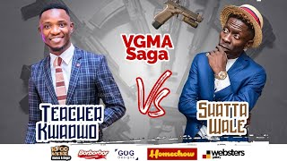 Shatta Wale Verbally B@ttles Teacher Kwadwo about VGMA saga.😂