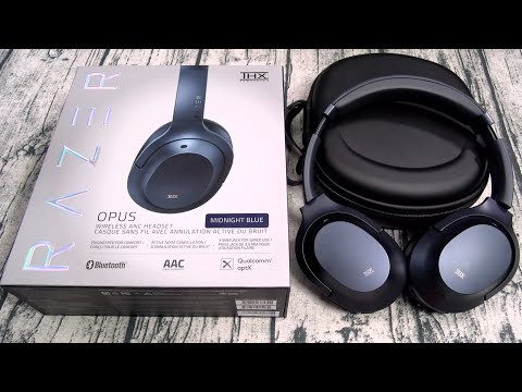 External Review Video WBSHBIU7LUA for Razer Opus Wireless Headphones with THX Certification & Active Noise Cancellation