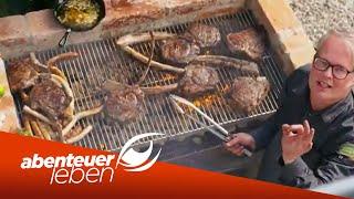 Grillen wie ein Ami - Der große DIY Barbecue Grill unter 300€ | Abenteuer Leben | Kabel Eins