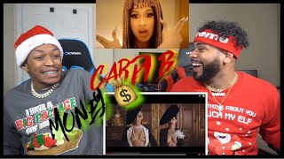 Cardi B - Money [Official Music Video] REACTION