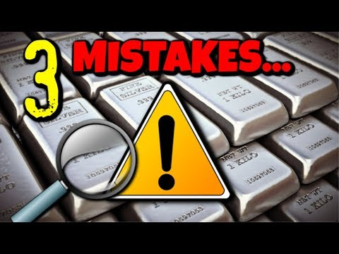 3 Silver Stacking Mistakes MOST People Do.