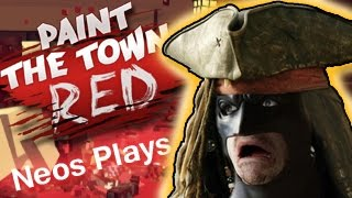 Batman's Pirate Adventure! (WARNING: VIOLENT) Paint the Town Red #3