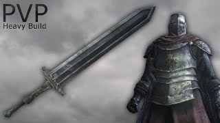 Dark Souls 3 - Cathedral Knight Greatsword PvP - Heavy Build
