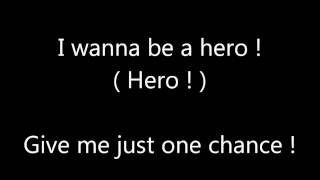 Pokémon Season 6 Theme - I Wanna be a Hero (Lyrics)