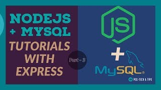 Nodejs With MySQL and Express Tutorials  |  Creating First Node App