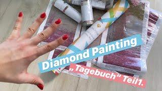 """Diamond Painting """"Tagebuch"""" Teil1. / Picmondoo Update ✅ Jaa, Ich Habe Ein Neues DP-Bild Bestellt!🤩"""