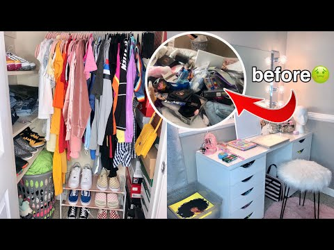 Moving Into My College Dorm Room Transformation! *turned my bedroom into a dorm* 2019