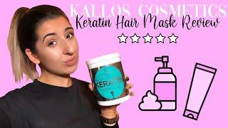 KALLOS COSMETICS KERATIN HAIR MASK REVIEW | HOLLY GRIFFITHS