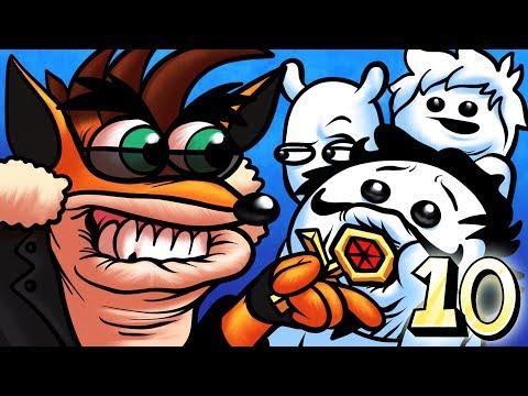 Oney Plays Crash Bandicoot Warped WITH FRIENDS - EP 10 - Donut Head (Crash Bandicoot 3)