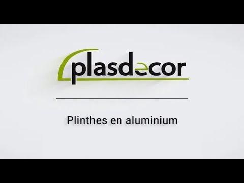Plinthes en aluminium