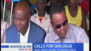 Leaders calling for talks between President Uhuru and Raila Odinga
