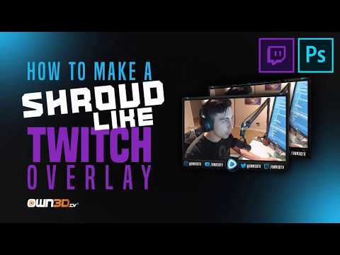 Tutorial: Twitch/YouTube Livestream Webcam Overlay (Ep  2