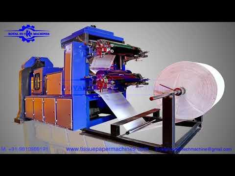 40X40 Tissue Paper Napkin Making Machine