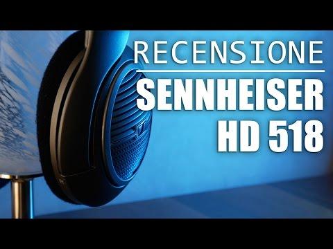 Sennheiser HD 518, Miglior Cuffia per Audiofili sotto 100€! | Recensione