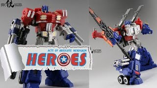 Iron Factory: IF EX-14 Ultimate Commander (not Optimus Prime) (English Subs) - Heroes For A Day