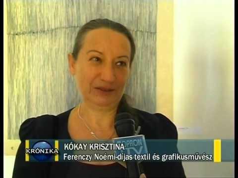 Kókay Krisztina kiállítása. Körmendi Galéria, 2014