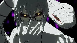 SUPER SNAKE! Kabuto Yakushi Sage Mode GAMEPLAY! ONLINE Ranked Match! Naruto Ultimate Ninja Storm 4