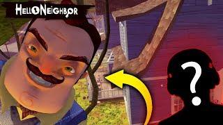 Попал в Секретный Подвал Привет Сосед и Улетел на Крышу БАГ - Hello Neighbor Привет Сосед