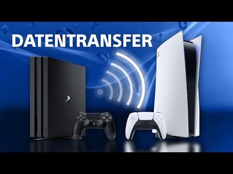 Tutorial: PS4 Daten auf PS5 transferieren
