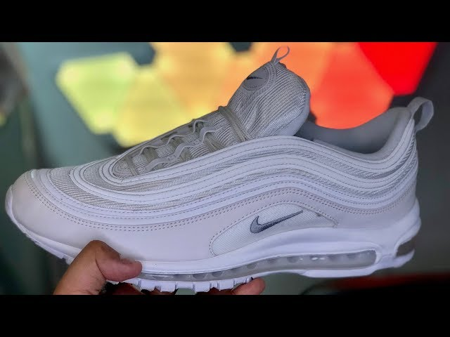 9ac41ff0db8cd Nike Air Max 97 Summit White Review: My Favorite White Sneakers! 05:24  26,081
