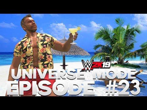 WWE 2K19 | Universe Mode - 'WRONG PLANE!' | #23