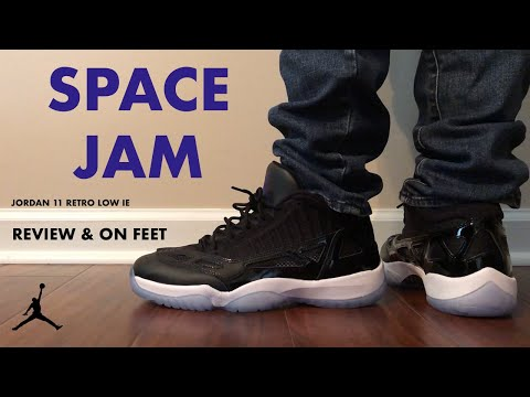 Air Jordan 11 Low IE Space Jam Review and On Feet