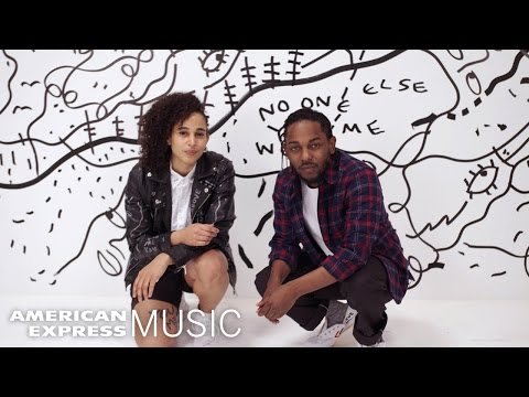 Kendrick Lamar and Shantell Martin: Live in Miami | American Express Music
