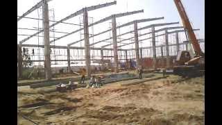 Video Lắp dựng nhà thép tiền chế cơ năng