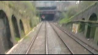 preview picture of video 'Cabview Hastings DEMU 1001 Haverstock Hill - Alexandra Palace Norfolk Navigator'