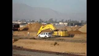 Komatsu PC1250, CAT 365CL,980H,and D9T