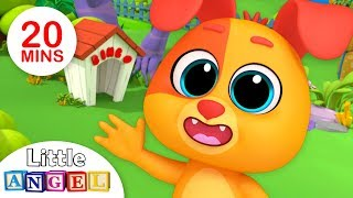 B I N G O Was His Name O, Finger Family | Kindergarten Nursery Rhymes By Little Angel