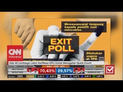Mengenal Perbedaan Quick Count, Exit Poll & Real Count