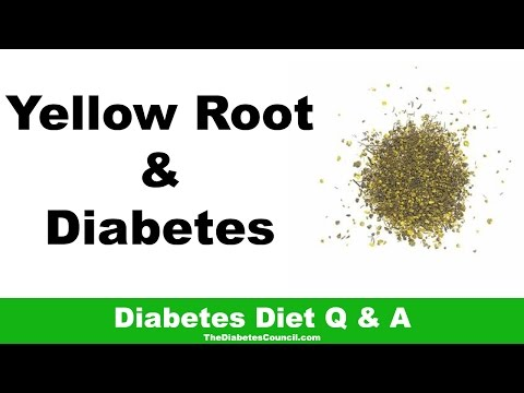 Video Is Yellow Root Good For Diabetes?