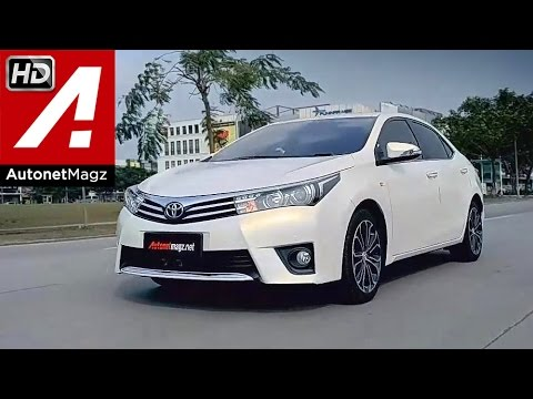 Test drive All New Corolla Altis Indonesia