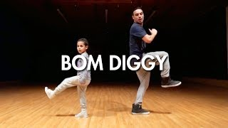 Zack Knight x Jasmin Walia - Bom Diggy (Dance Video) | Mihran Kirakosian Choreography